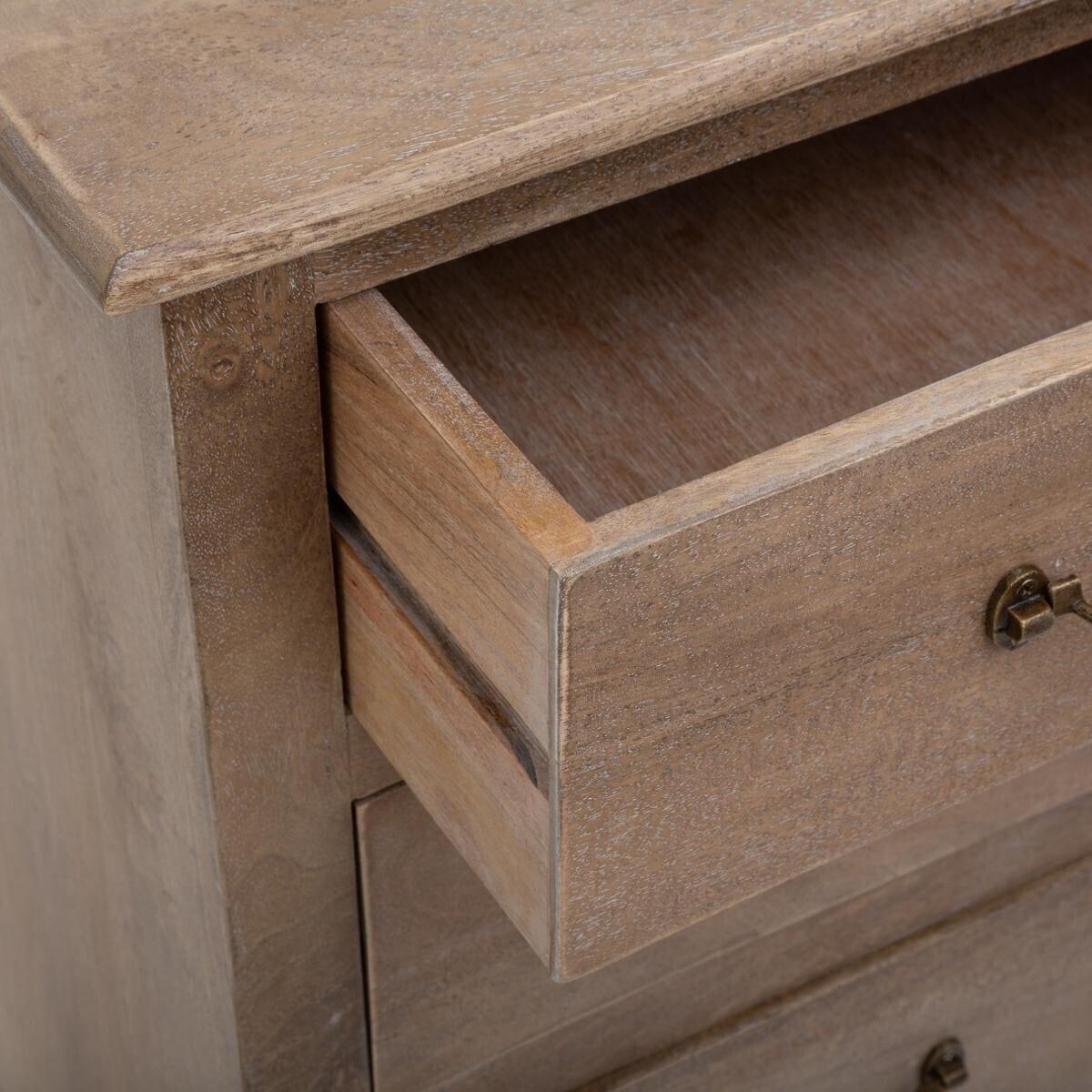 Commode 'Ajay' 20 tiroirs sable