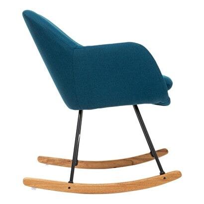 """Rocking chair """"Pera"""" bleu canard DMO_AH_2020_Catalogue"""