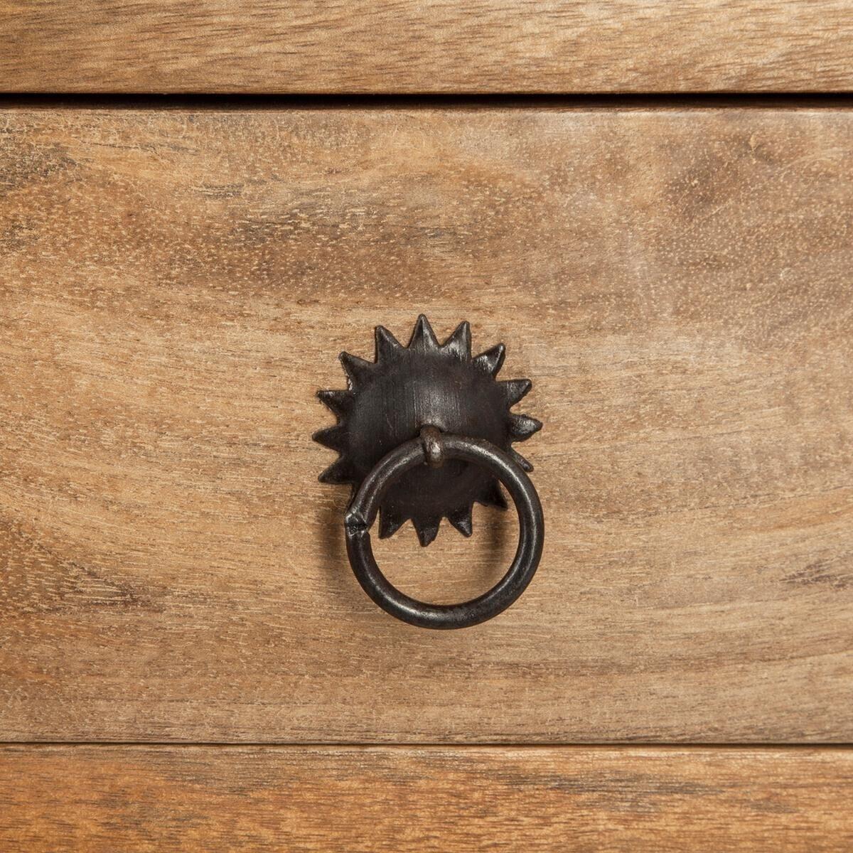 Console 'Ajmal', bois de manguier marron
