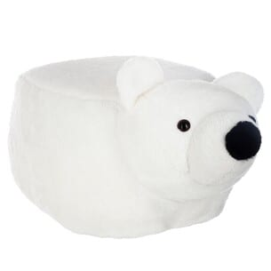 Pouf Ours encours Blanc
